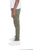 STRETCH DENIM- OLIVE - Outletfy