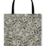 Tote Bag, Dollars - Outletfy