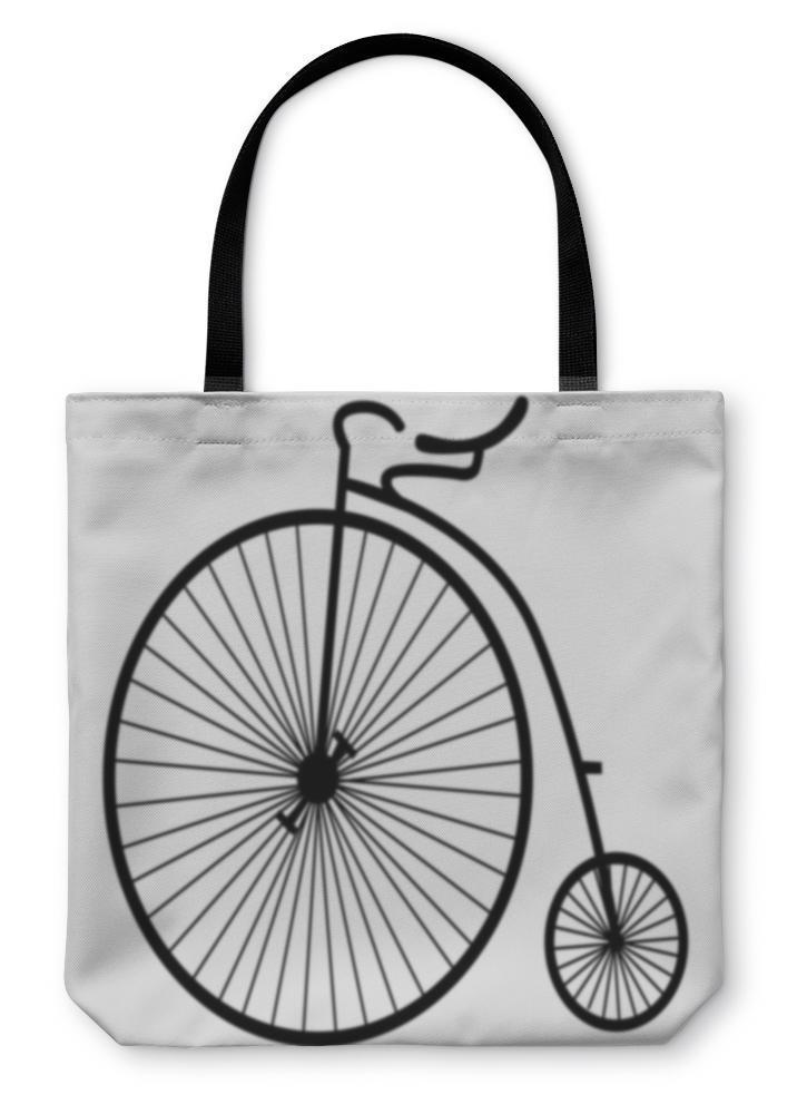 Tote Bag, Old Bicycle - Outletfy