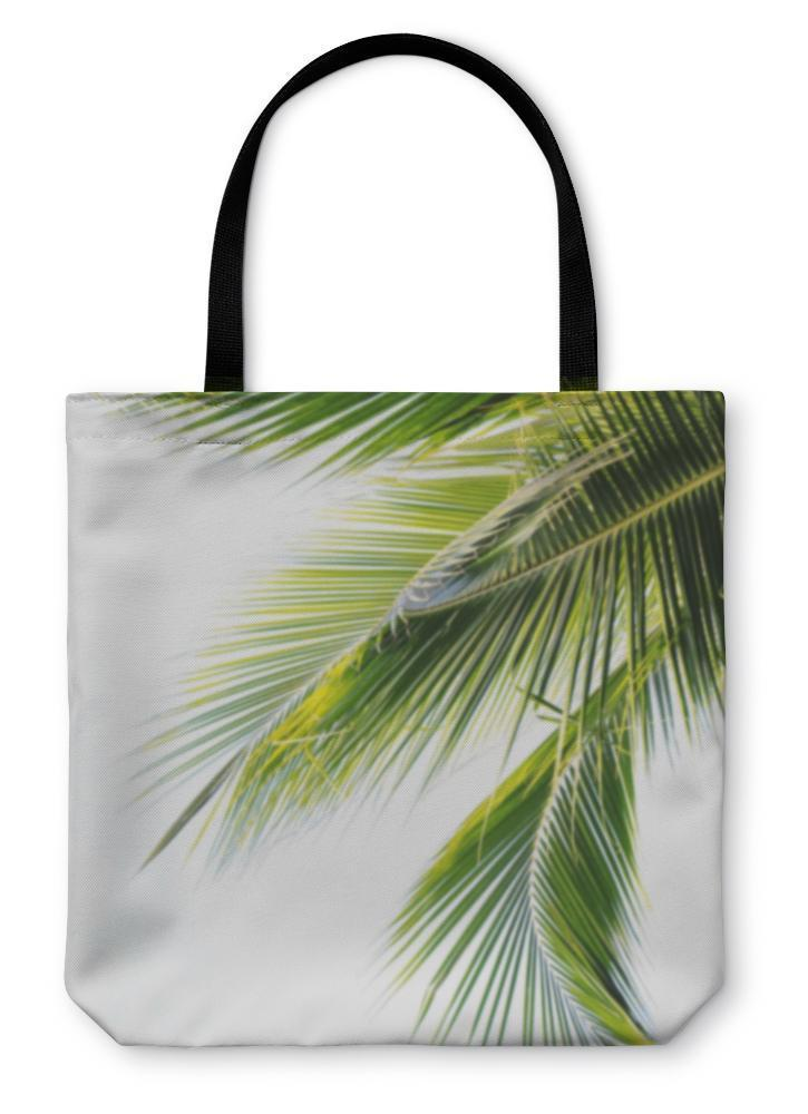 Tote Bag, Palm Leaf - Outletfy