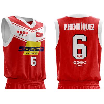 Camiseta CDV 2001-2002 - Rojo - PH6