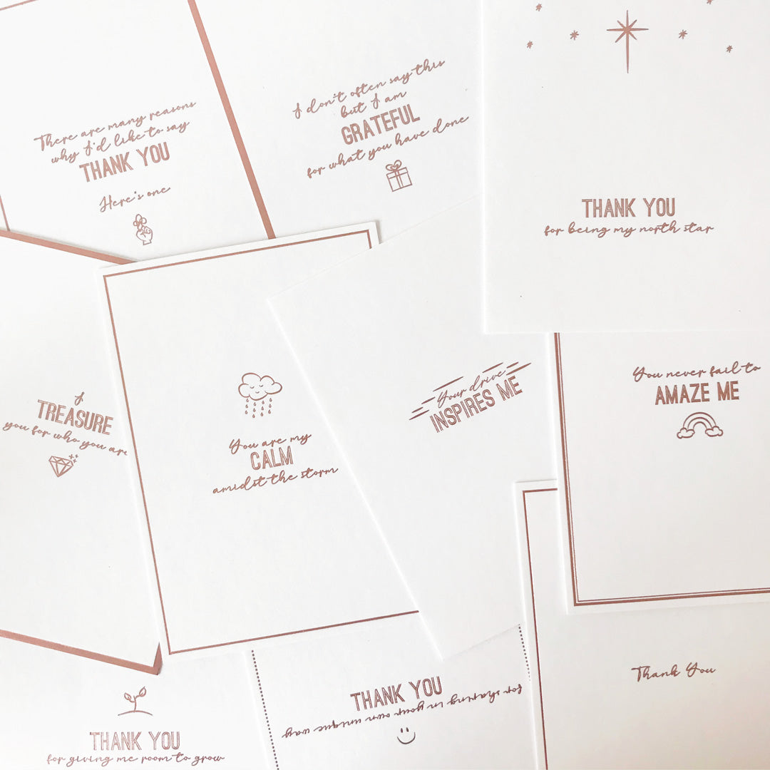 Appreciation Card Set