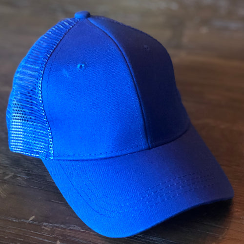 Blue Jay Mesh Back Ponytail Cap