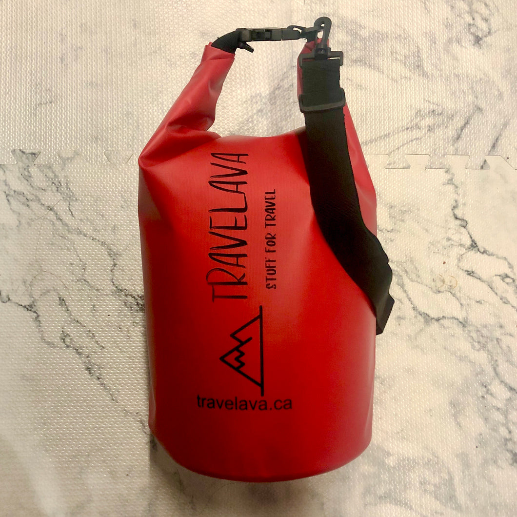 Waterproof Dry Bag Red 20 Litre