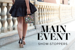 Designer fashions for an evening out