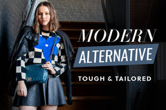 Edgy designer clothing and accessories
