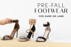 Preowned designer sandals for beach, cocktail, or events