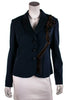Moschino Cheap and Chic ribbon embellished blazer Size L | IT 46 [20% OFF] - OWN THE COUTURE