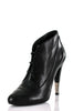 Chanel cap toe lace up ankle boots New Size 7.5 | EU 37.5  [20% OFF] - OWN THE COUTURE