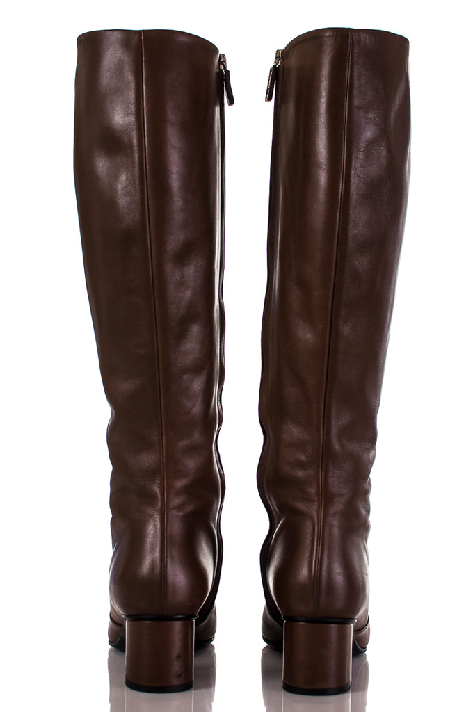 Gucci Lillian horsebit knee high boots Size 8 | EU 38 [20% OFF] - OWN THE COUTURE