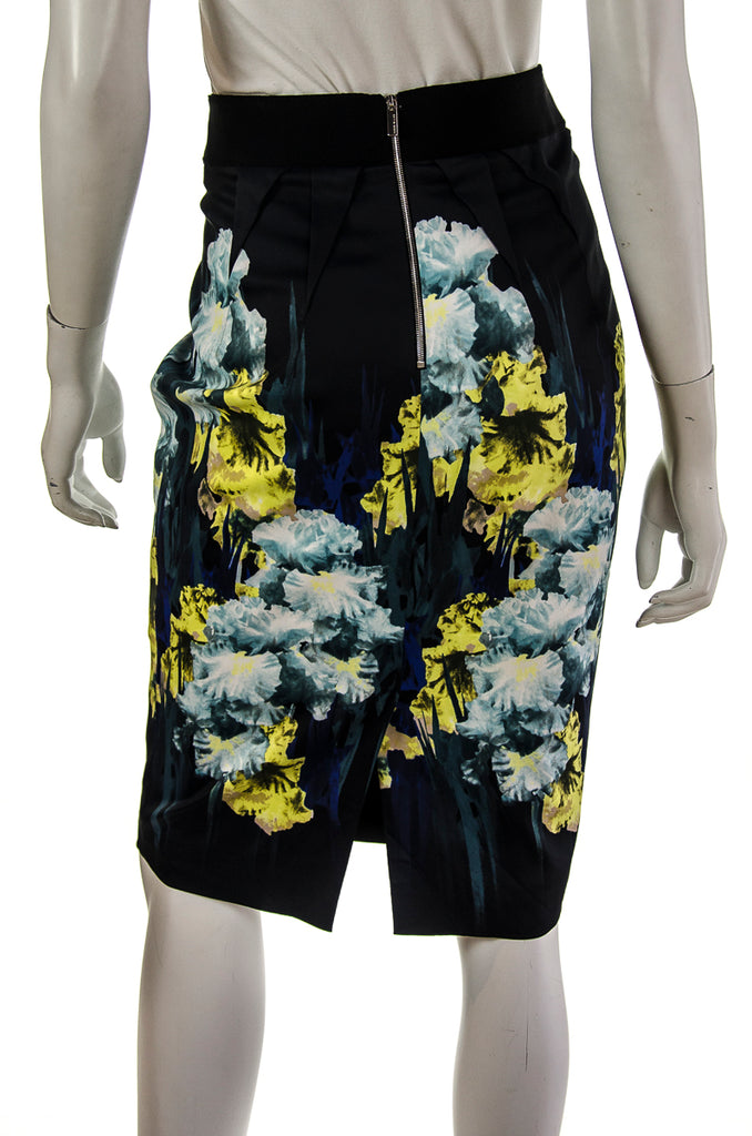 Karen Millen floral print pencil skirt Size M | UK 12 [20% OFF] - OWN THE COUTURE