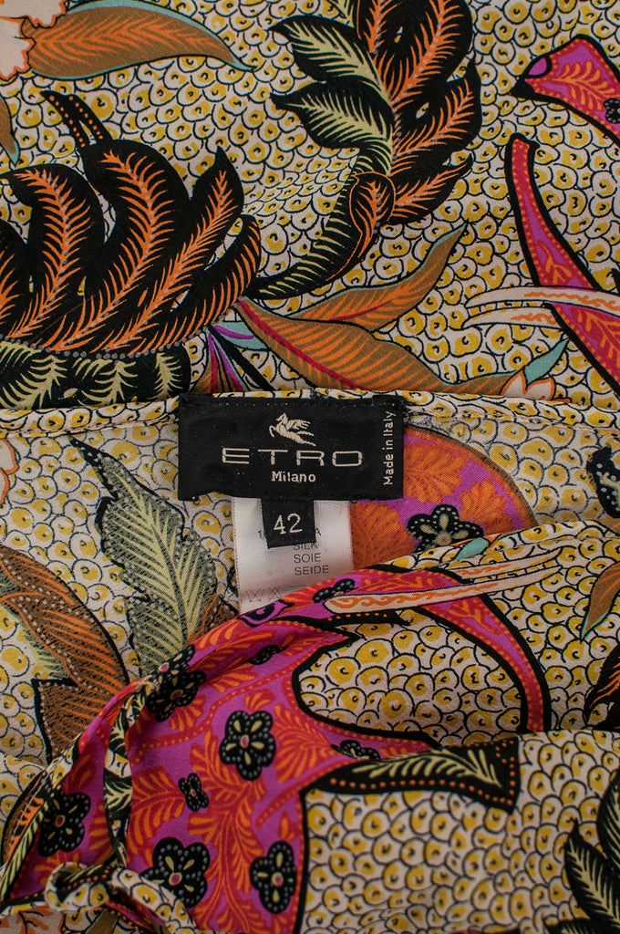 Etro floral print silk skirt Size S | IT 42 [20% OFF] - OWN THE COUTURE