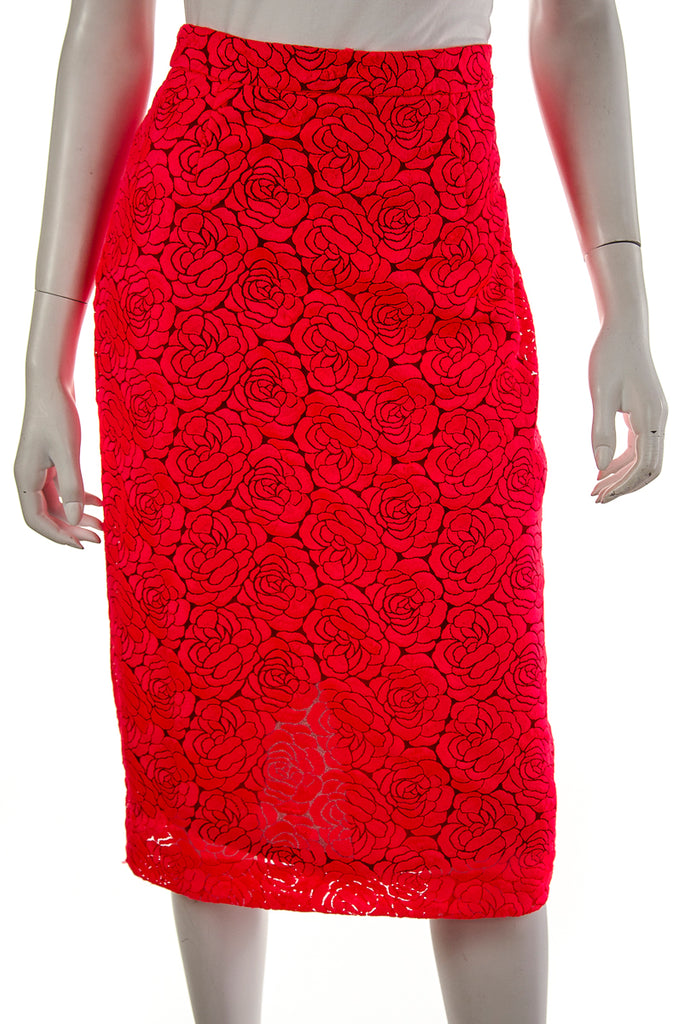 A.L.C. floral lace pencil skirt Size M | US 8 - OWN THE COUTURE