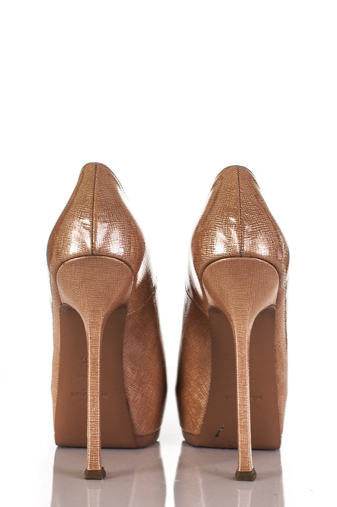 Yves Saint Laurent Tribute Two platform pumps Size 7.5  [20% OFF] - OWN THE COUTURE