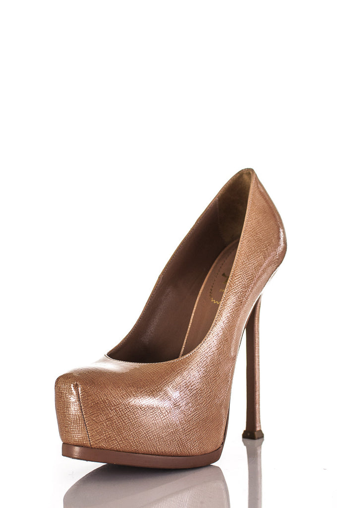 0200aed1986f ... Yves Saint Laurent Tribute Two platform pumps Size 7.5  20% OFF  - OWN  ...