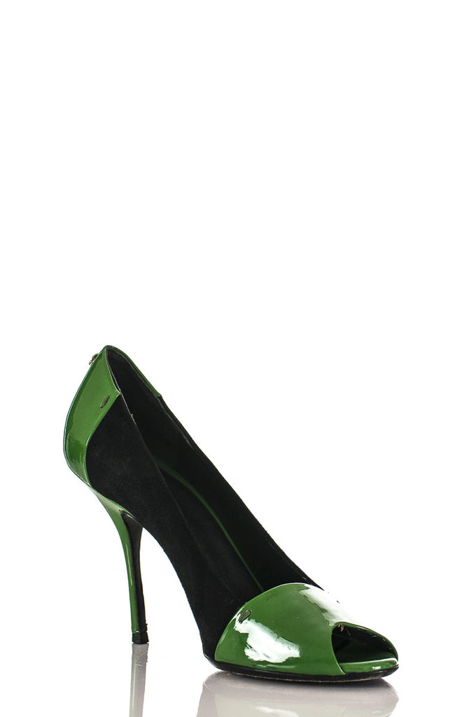 Gucci patent leather and suede pumps Size 7.5  [20% OFF] - OWN THE COUTURE