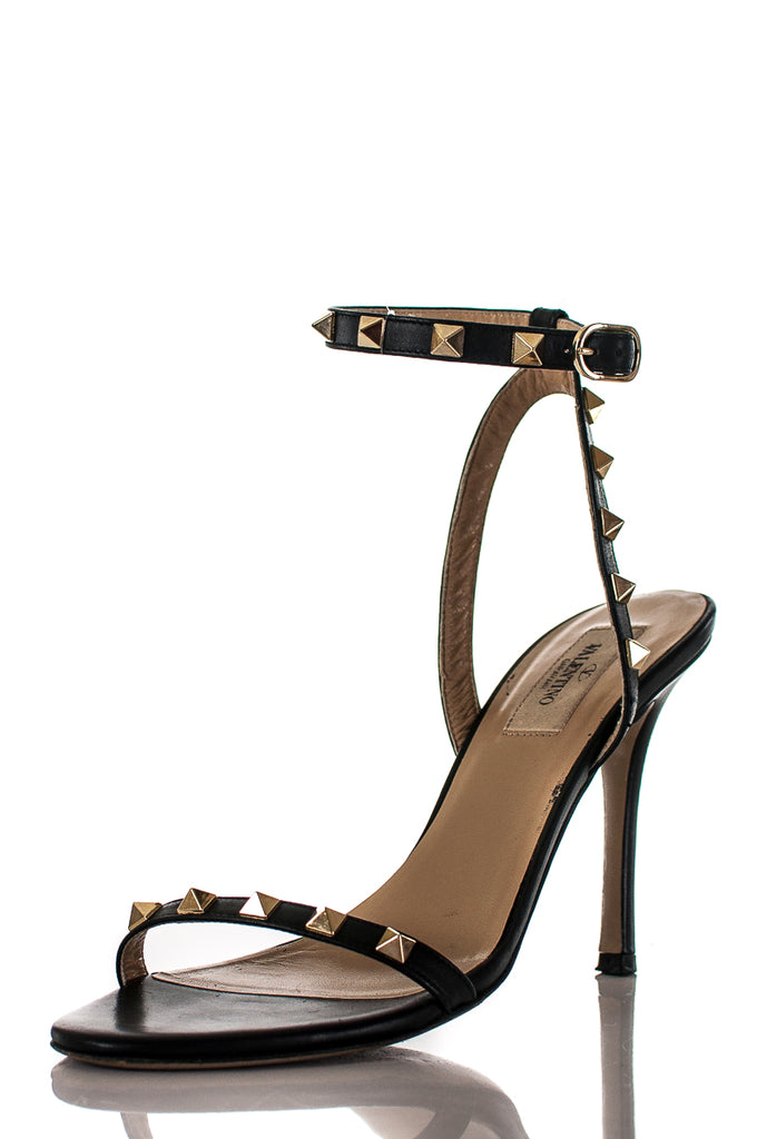 b2b13ad20983 ... Valentino Rockstud ankle strap sandals Size 7.5 - OWN THE COUTURE ...