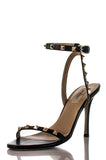 Valentino Rockstud ankle strap sandals Size 7.5 - OWN THE COUTURE