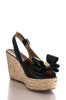 Valentino rockstud bow wedge espadrille sandals Size 8 | EU 38 - OWN THE COUTURE