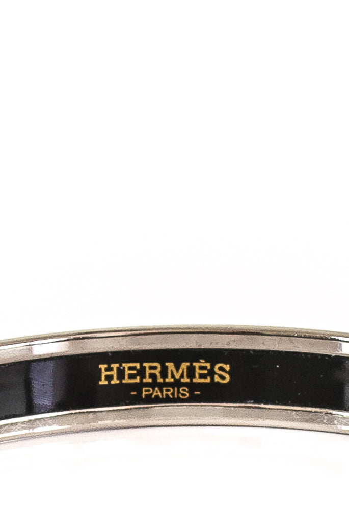 Hermès filigree narrow enamel bracelet - OWN THE COUTURE