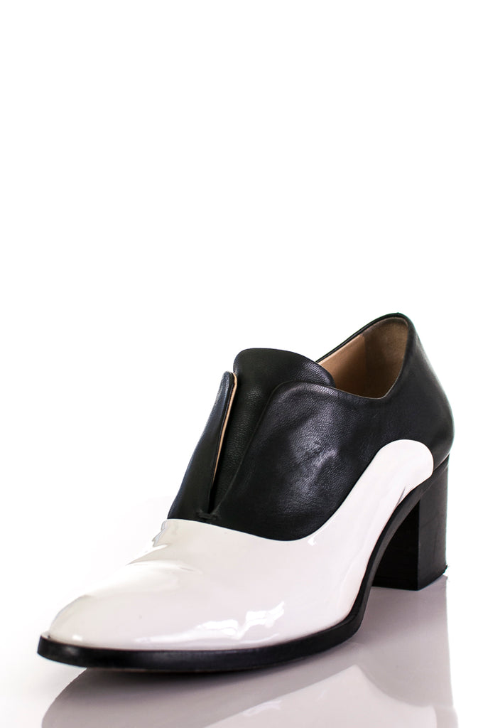 Reed Krakoff two-tone leather and patent oxford pumps Size 9.5 [40% OFF] - OWN THE COUTURE