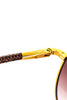 Louis Vuitton Damier Conspiration Pilote Canvas sunglasses - OWN THE COUTURE