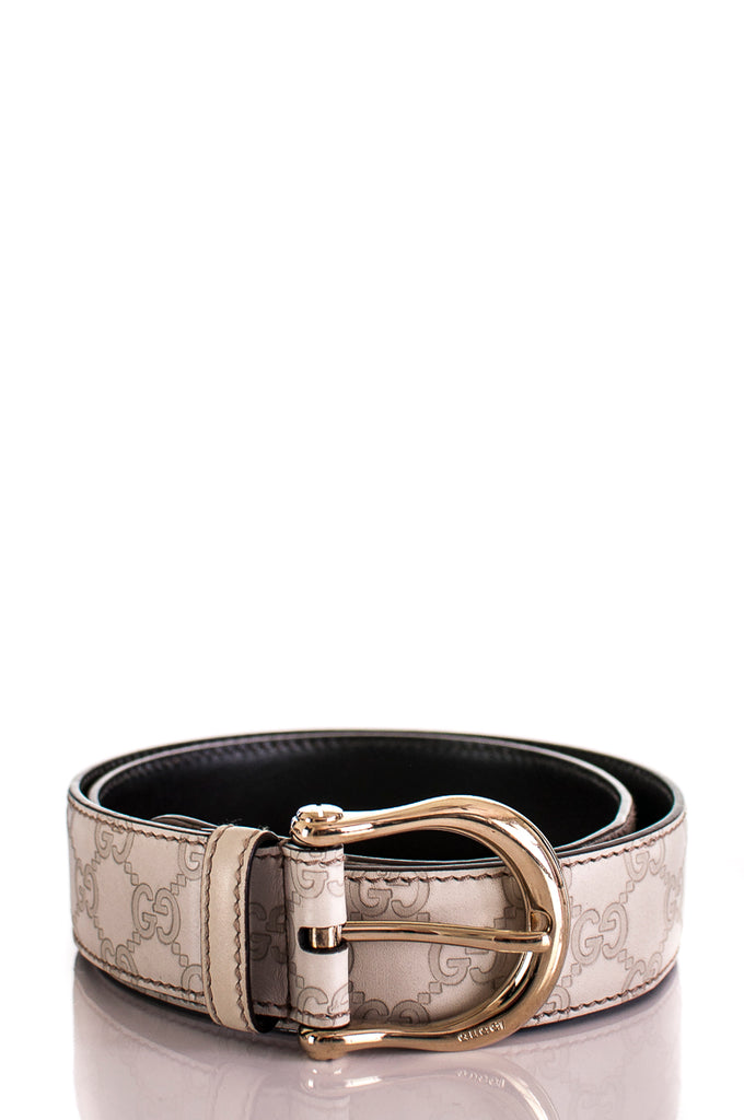 cddc1a4d0 Gucci Guccissima leather monogram belt   OWN THE COUTURE   Canada's ...