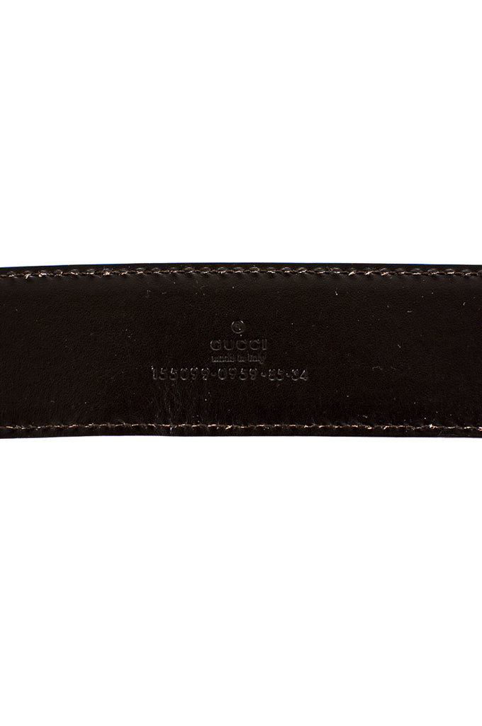 6a9c8c3dc56 Gucci Guccissima leather monogram belt - XS - OWN THE COUTURE ...