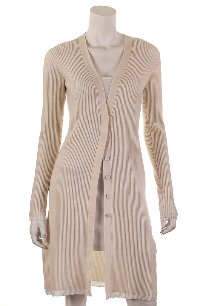 3.1 Phillip Lim wool blend extra long ribbed cardigan Size XS - OWN THE COUTURE