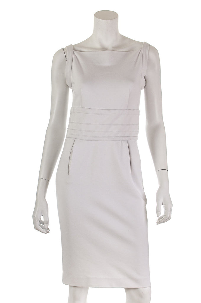 Diane von Furstenberg fitted sleeveless dress Size S | US 6 - OWN THE COUTURE