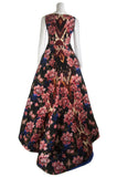 Oscar de la Renta floral and Ikat jacquard print gown Size S | US6  [36% OFF] - OWN THE COUTURE