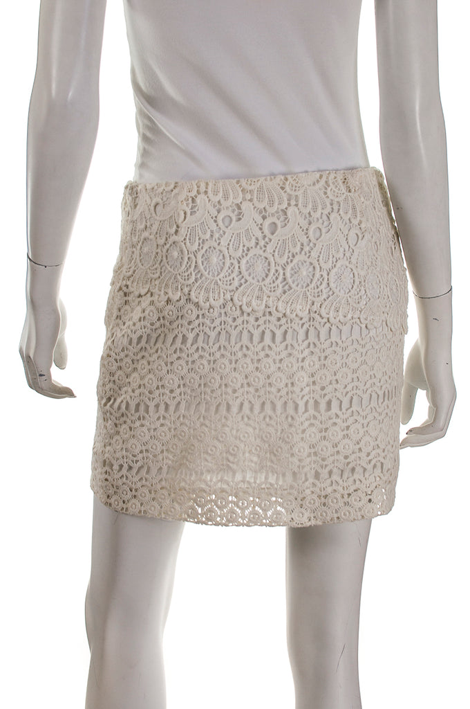 Maje lace mini skirt Size S | FR 38 [20% OFF] - OWN THE COUTURE