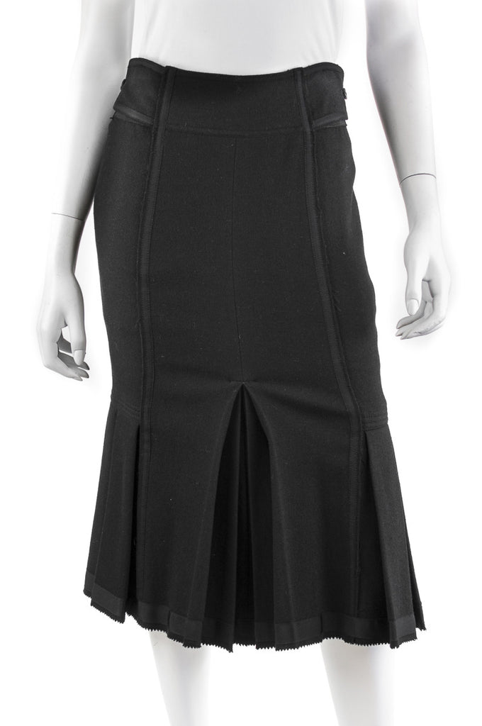 Donna Karan wool blend midi skirt Size XS | US 4 - OWN THE COUTURE