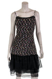 Chanel chiffon trim tweed sleeveless dress Size L | FR 42 [20% OFF] - OWN THE COUTURE