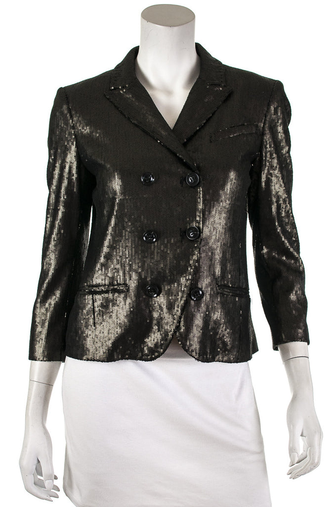 Diane von Furstenberg Little M sequin jacket Size S | US 6 - OWN THE COUTURE