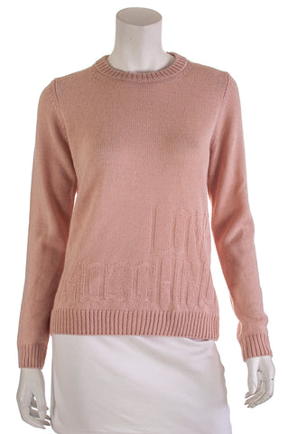 Loro Piana beige cashmere cable knit sweater Size XL | IT 48