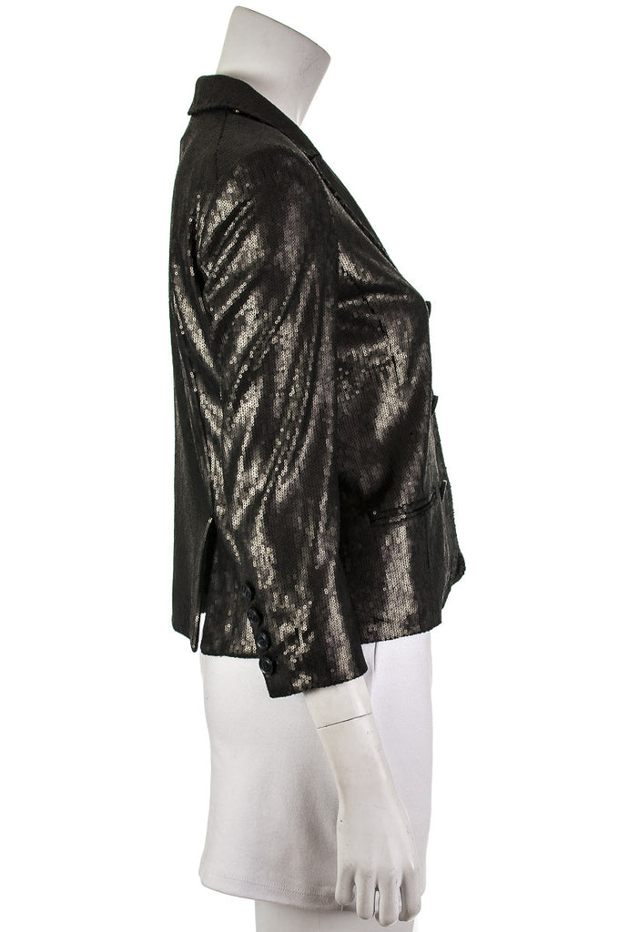Diane von Furstenberg Little M sequin jacket Size S | US 6 - OWN THE COUTURE  - 2