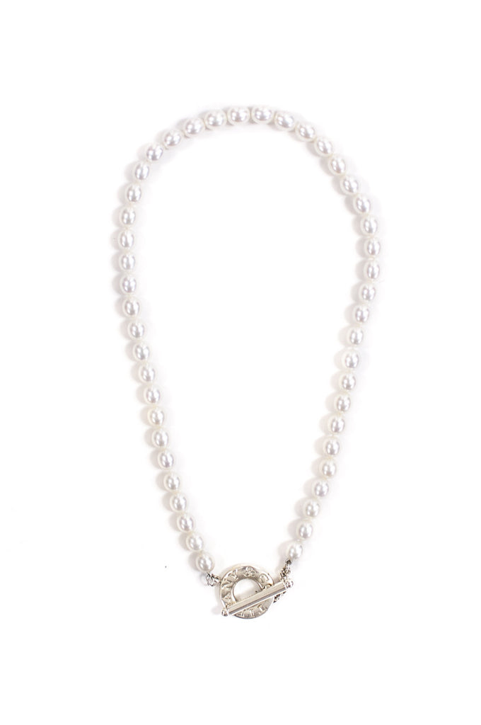 Tiffany & Co. freshwater pearl toggle necklace - OWN THE COUTURE
