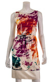 Yves Saint Laurent abstract print silk dress Size S | FR 38 - OWN THE COUTURE