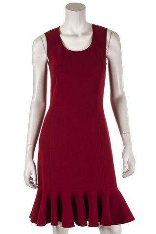 Karen Millen houndstooth and lace sleeveless shift dress Size S | UK 10  [40% OFF]