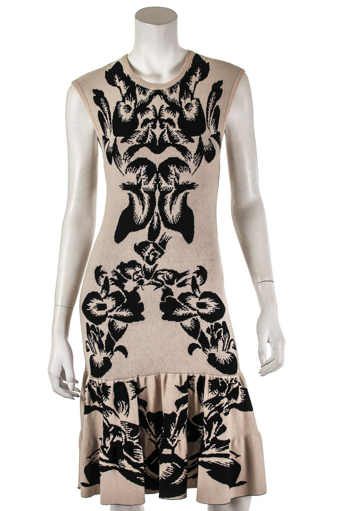 McQ by Alexander McQueen knit peplum hem dress Size S - OWN THE COUTURE  - 1