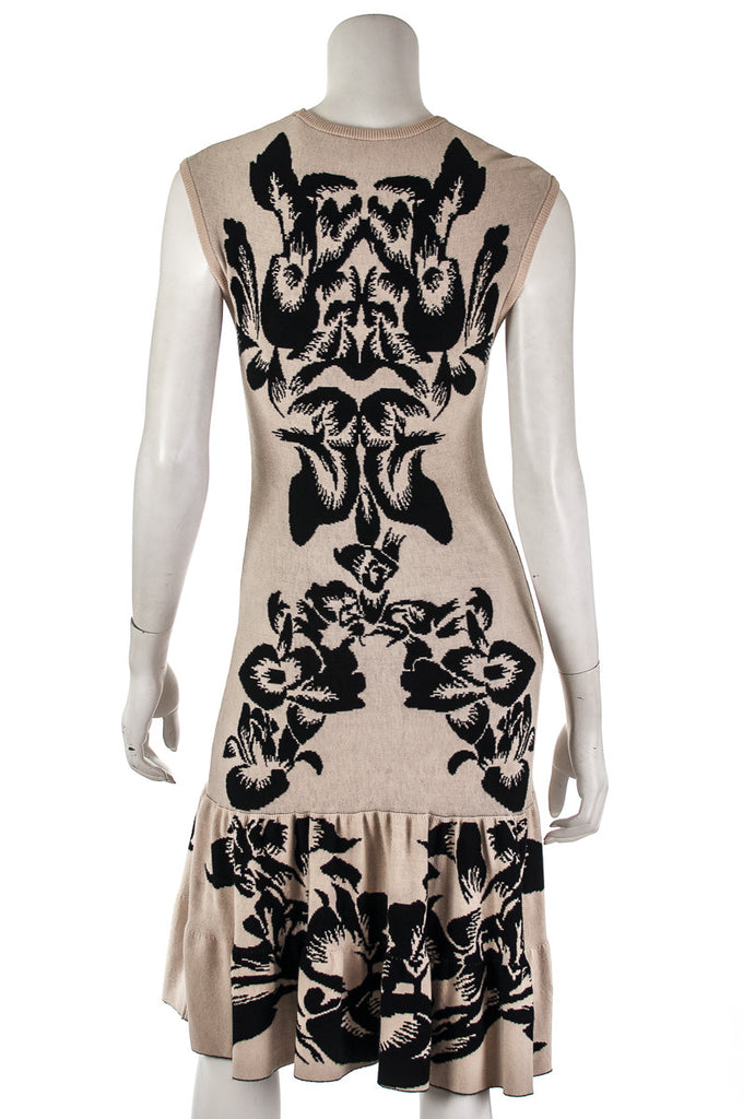 McQ by Alexander McQueen knit peplum hem dress Size S - OWN THE COUTURE