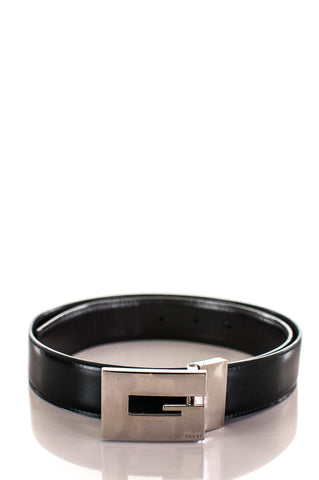 Gucci horsebit leather waist belt - S