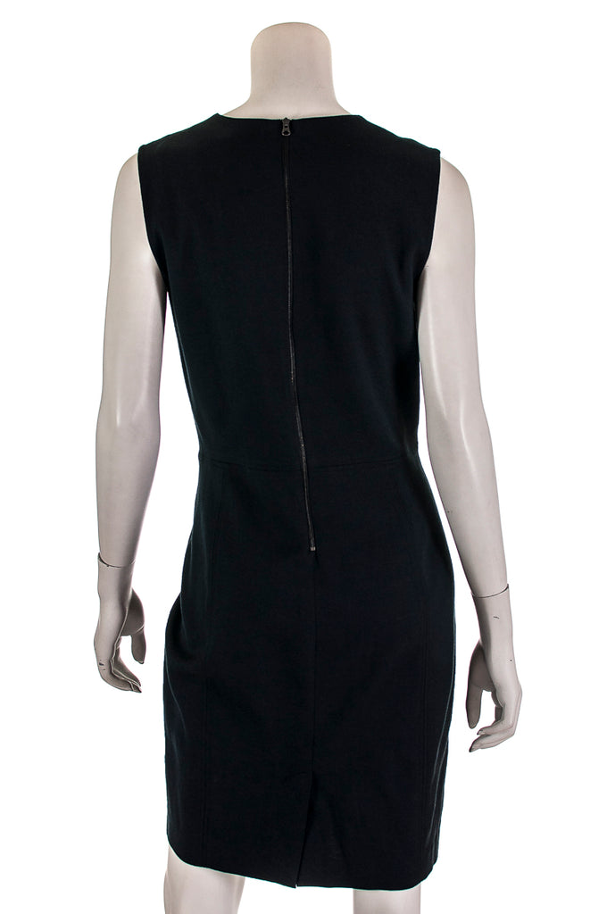 Vince V-neck linen blend dress New w/ tags Size XL | US 12 [20% OFF] - OWN THE COUTURE