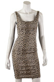 Diane von Furstenberg Arianna leopard print sleeveless dress New w/ Tags Size XXS | US 0 - OWN THE COUTURE  - 1