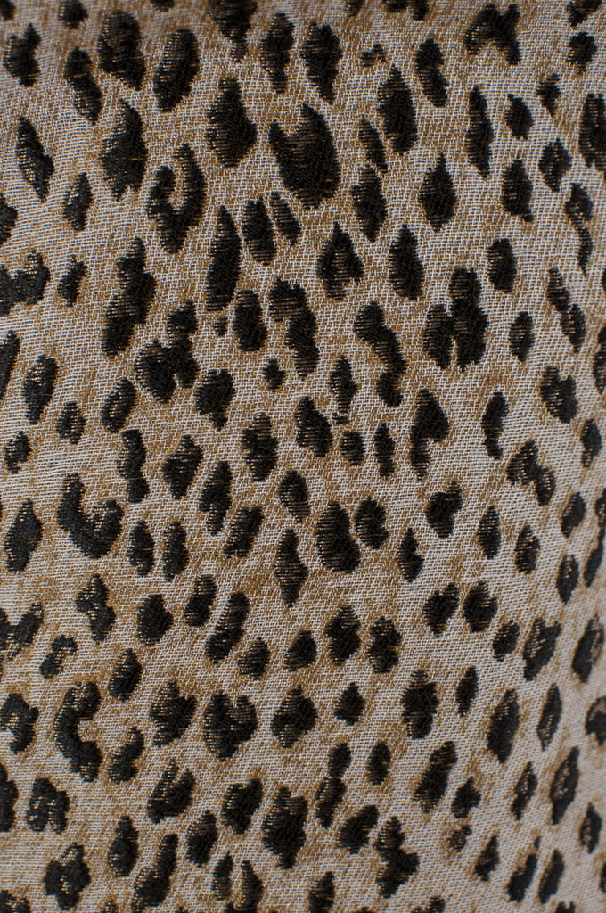 Diane von Furstenberg Arianna leopard print sleeveless dress New w/ Tags Size XXS | US 0 - OWN THE COUTURE  - 4