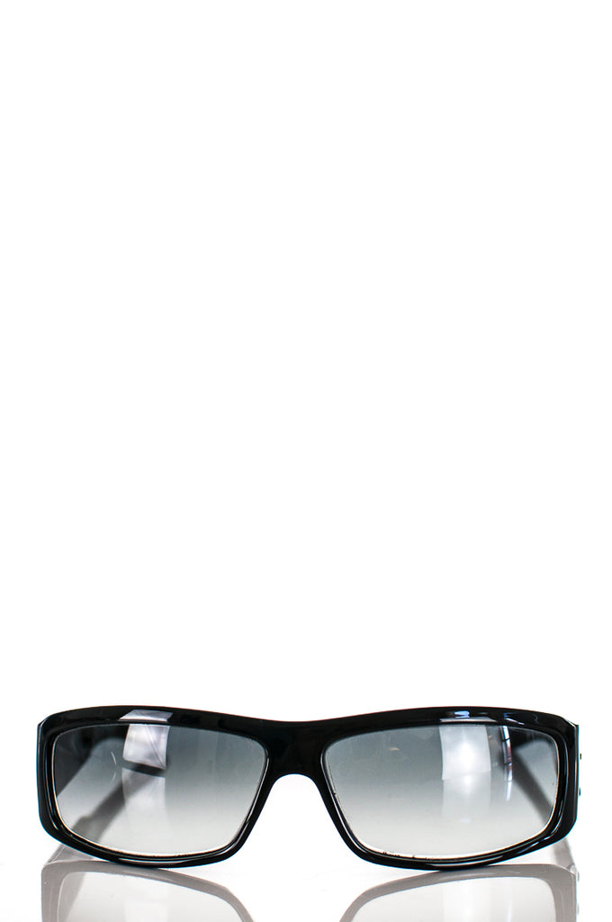 Dior narrow crystal embellished sunglasses - OWN THE COUTURE