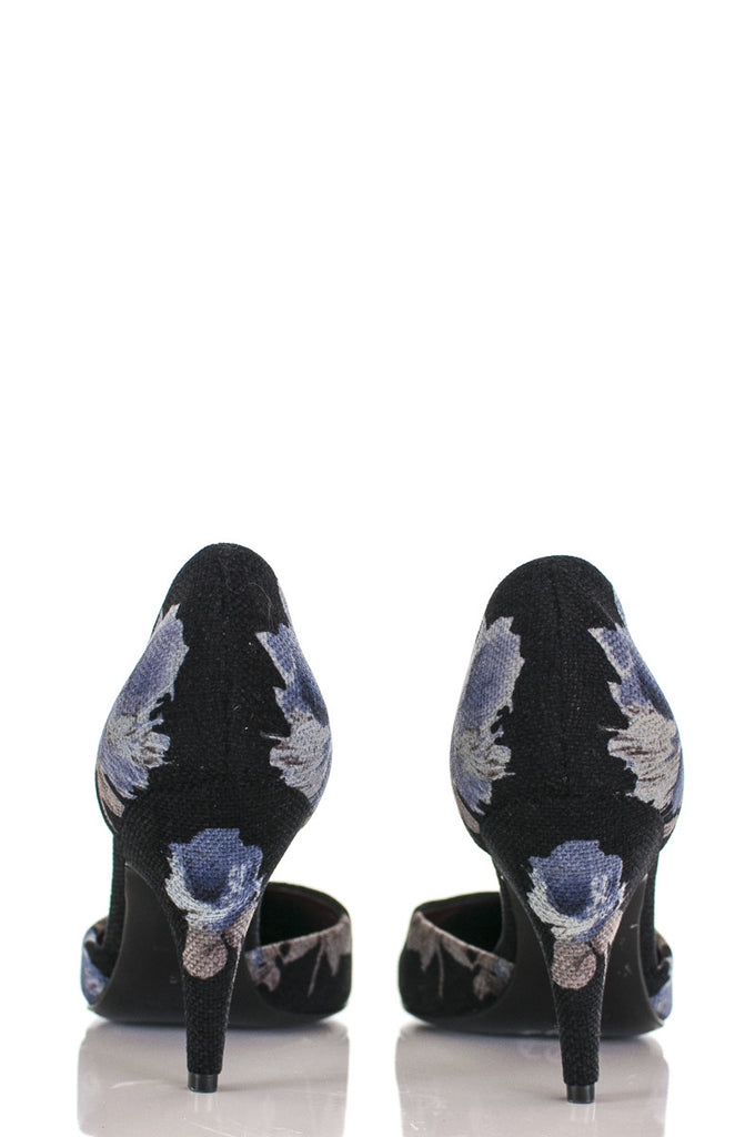 Prada floral print Antic pointed toe pumps New Size 6 [40% OFF] - OWN THE COUTURE