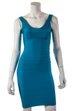 Herve Leger Sydney U-neck bandage sleeveless dress New w/ tags Size XXS - OWN THE COUTURE