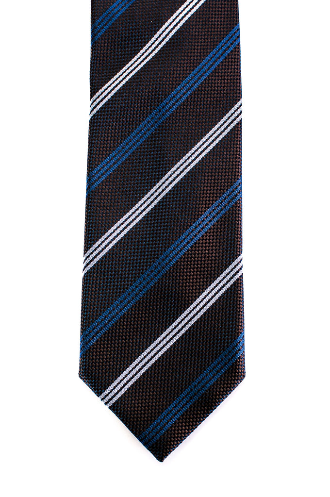 Dolce & Gabbana striped silk tie - OWN THE COUTURE